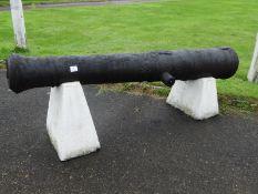 Georgian Era 12lbs Ships Cannon