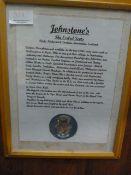 Johnstone Collection: Framed History of Recent Johnstones