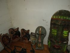 Six Tribal and Other Masks