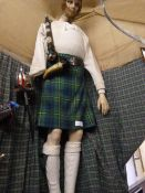 Johnstone Collection: Life Size Mannequin in Full Scottish Dress