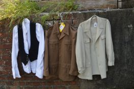Two Vintage Jackets, a Shirts and a Waistcoat