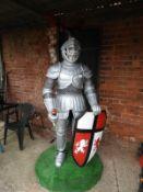 Decorative GRP Full Size Knight