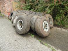 Twenty Aviation Wheels and Tyres to Suit the Beverley Blackburn Transporter