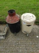 Brownson Tea Urn and a Can with Brass Tap
