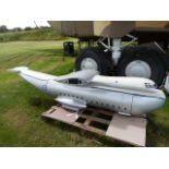 Scale Model of a Prototype Blackburn Beverley Transport Plane