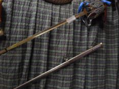Johnstone Collection: Basket Sword with Scabbard