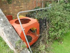 Assorted Fiberglass Slide Components and Children's Playground Safety Matting etc.