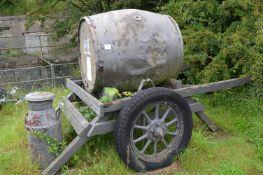 WWI Style Field Water Cart