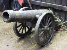 Replica Cast Iron 6lbs Cannon