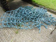 Blue Polypropylene Cargo Net