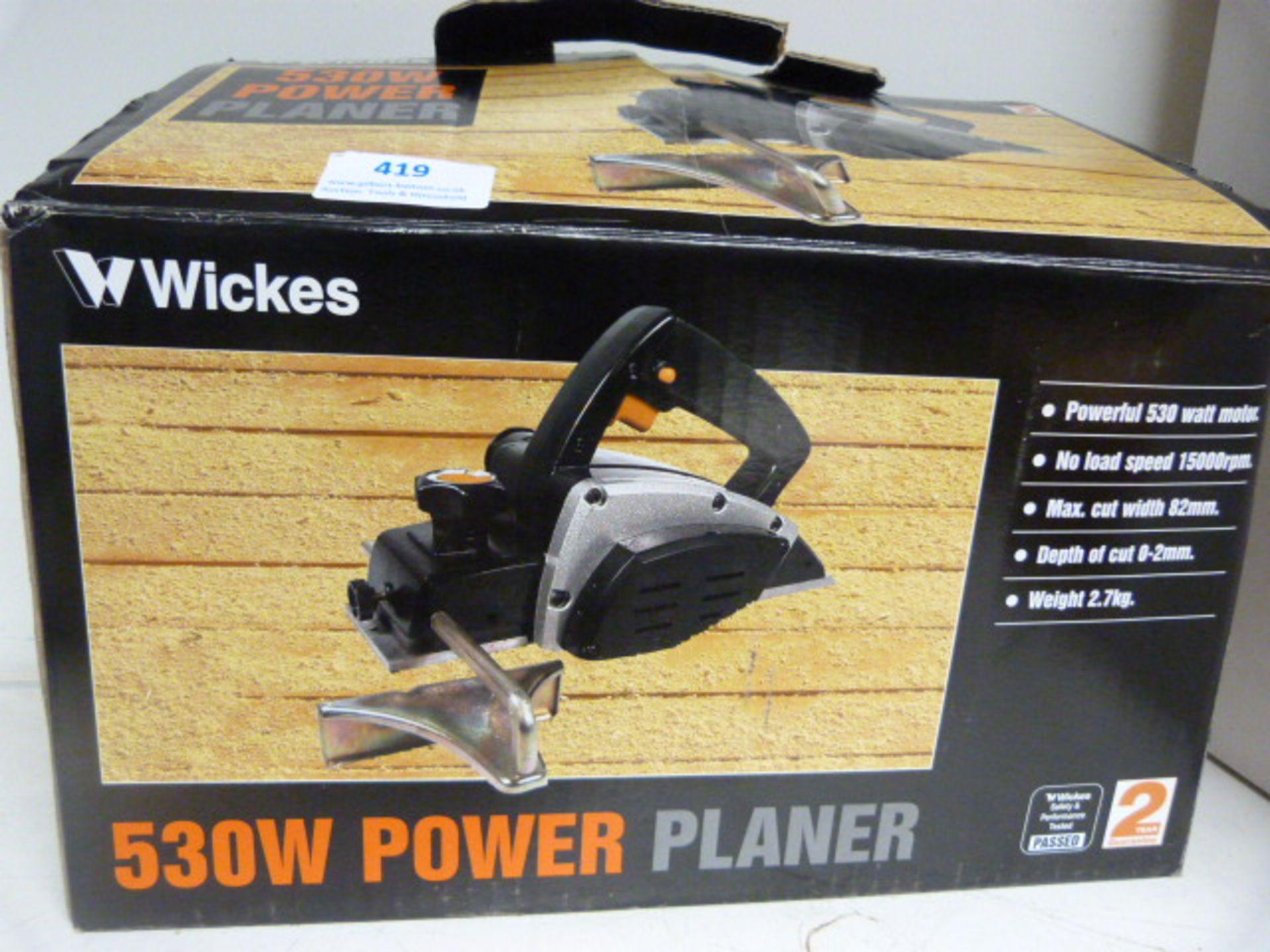 Lot 419 - 530w Power Planer