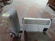 Glen Electric Fan Heater and Melissa Electric Radi