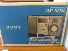 Sony CMT NEZ50 Micro Chaine Hi Fi