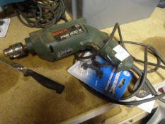 Bosch PSB400-2 240v Drill and a Silverline Chuck K