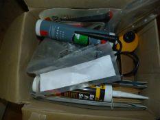 Ecu Sander, Sandpaper, Glue, Mastic, etc.