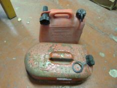 Two Petrol Containers