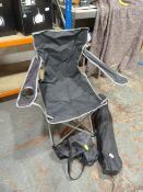 Two Folding Camping Chairs