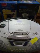 Sony CD Radio Cassette Recorder, Mini Heater, and