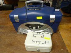 Rockbot Radio, Tool Box and a Petty Cash Box