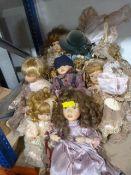 Quantity of Pot Face Dolls