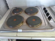 Four Ring Electric Hob
