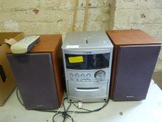 Sony Radio CD Cassette