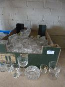 Box of Assorted Glasses