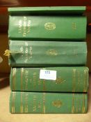 Four Volumes of Lloyd's Register of Yachts and Ano