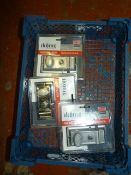 Three Ikonic Latch Door Locks Yale Type
