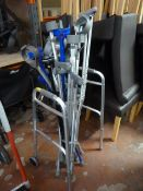 Quantity of Crutches and a Walking Aid