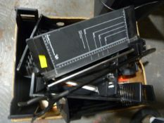 Box of Filing Trays and a Paper Trimmer, Connect-I