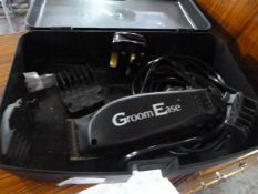 GroomEase Hair Clippers with Case