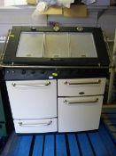 Belling Stay Warm Oven with Five Ring Gas Hob and