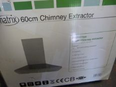 Matrix 60cm chimney Extractor