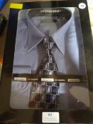 Boxed Leonardo Shirt & Tie Set Size: 16
