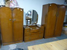 1950's Three Piece Bedroom Suite