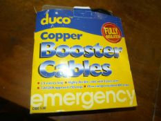 2.5m Duco Copper Booster Cables