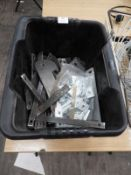 *Box of Assorted Mild Steel Brackets