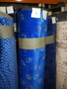 *Roll Containing 10m+ Commercial Grade Upholstery Cloth (As per Photograph)