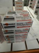 """*10 Boxes of 10,000 3/8 crown 1/4"""" Length Staples"""