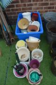 Quantity of Garden Plant Pots