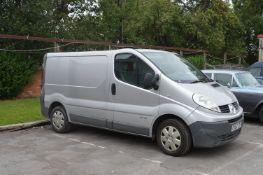 Renault Traffic Van Reg: EX62 ZSV