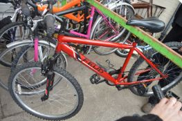 Red Feud Mountain Bicycle