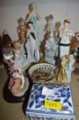 Art Deco Style Ornaments plus Others