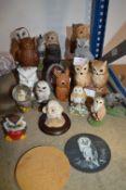 Parliament of Owl Figures