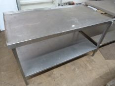 150cm Stainless Steel Table