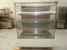 * Synecore display chiller 4 tier grab and go, very nice condition.(1290Wx1710Hx780D)