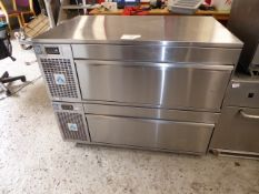 * Adande 2 drawer refrigerator - direct from national chain. RRP new £4400