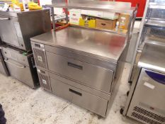* Adande 2 drawer refrigerator, with additional shelf - direct from national chain. RRP new £4400