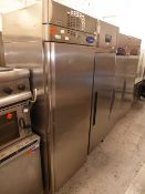 *Interlevin upright fridge - very good condition - complete with 4 shelves -direct from a national